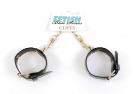 Fetish Boss Series Handcuffs with cristals 3 cm Gold