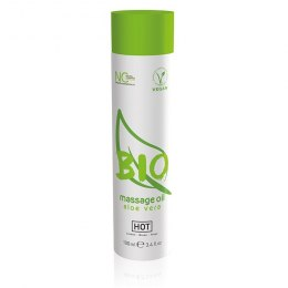 HOT BIO Massage oil aloe vera 100ml.